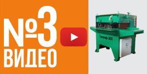 Видео - скребковый транспортер для многопила ТРИУМФ 300
